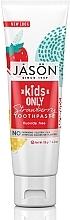 Parfums et Produits cosmétiques Dentifrice sans fluor goût fraise - Jason Natural Cosmetics Kids Only Toothpaste Strawberry