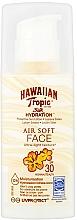 Parfums et Produits cosmétiques Lotion solaire pour visage - Hawaiian Tropic Silk Hydration Air Soft Face Protective Sun Lotion SPF 30