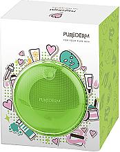 Parfums et Produits cosmétiques Brosse nettoyante sonique pour visage, verte - Purederm Sonic Face Brush Green