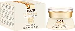 Parfums et Produits cosmétiques Crème de nuit à la cire d'abeille - Klapp Kiwicha Night Cream