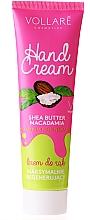 Parfums et Produits cosmétiques Crème régénérante pour mains - Vollare Cosmetics De Luxe Hand Cream S.O.S Maximum Regeneration
