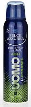Parfums et Produits cosmétiques Déodorant spray anti-transpirant - Felce Azzurra Deo Uomo Dynamic