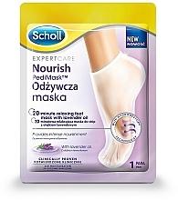 Parfums et Produits cosmétiques Masque-chaussette à l'huile de lavande pour pieds - Scholl Expert Care Foot Mask