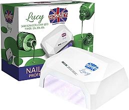 Parfums et Produits cosmétiques Lampe CCFL + LED, blanche - Ronney Profesional Lucy CCFL + LED 38W (GY-LCL-021) Lamp