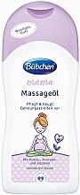 Parfums et Produits cosmétiques Huile de massage aux huiles d'avocat et jojoba - Bubchen Mama Massage Oil