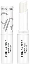 Parfums et Produits cosmétiques Base à lèvres enrichie en vitamine E - Golden Rose Prime & Prep Lipstick Base