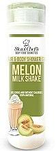 Parfums et Produits cosmétiques Gel douche naturel corps et cheveux, Cocktail de melon - Stani Chef's Hair And Body Shower Gel Melon Milk Shake