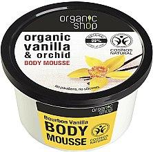 Parfums et Produits cosmétiques Mousse à la vanille et orchidée pour corps - Organic Shop Body Mousse Organic Vanilla & Orchid