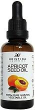 Parfums et Produits cosmétiques Huile de graines d'abricot 100% naturelle - Hristina Cosmetics Pure Apricot Seed Oil