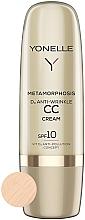 Parfums et Produits cosmétiques CC crème anti-rides SPF 10 - Yonelle Metamorphosis D3 Anti Wrinkle CC Cream SPF10