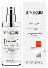 Parfums et Produits cosmétiques Sérum à l'acide glycolique pour contour des yeux - Symbiosis London Overnight Rejuvenating Eye Serum