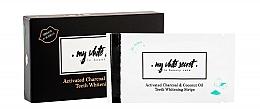 Parfums et Produits cosmétiques Bandes blanchissantes au charbon actif pour les dents - My White Secret Whitening Strips With Activated Charcoal And Coconut Oil