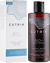 Parfums et Produits cosmétiques Shampooing à l'extrait d'écorce de pin et thé vert - Cutrin Bio+ Energy Boost Shampoo For Men