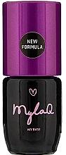 Parfums et Produits cosmétiques Base hybride pour ongles naturelles - MylaQ My Base