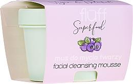 Parfums et Produits cosmétiques Mousse nettoyante pour visage - Fluff Facial Cleansing Mousse Wild Blueberry