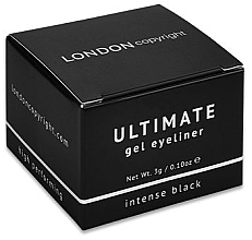 Parfums et Produits cosmétiques Eyeliner gel - London Copyright Ultimate Gel Eyeliner
