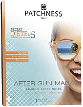 Parfums et Produits cosmétiques Masque après-soleil à l'acide hyaluronique pour visage - Patchness Mask After Sun