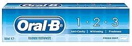 Parfums et Produits cosmétiques Dentifrice - Oral B 1-2-3 Fresh Mint Toothpaste