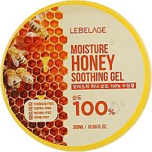 Parfums et Produits cosmétiques Gel à l'extrait de miel pour visage - Lebelage Moisture Honey 100% Soothing Gel