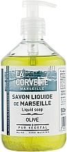 Parfums et Produits cosmétiques Savon liquide de Marseille, Olive - La Corvette Liquid Soap