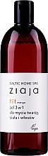 Parfums et Produits cosmétiques Gel nettoyant à l'extrait de figue pour visage, corps et cheveux - Ziaja Baltic Home Spa Gel Mango