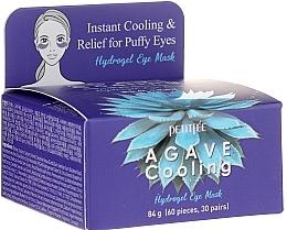 Parfums et Produits cosmétiques Patchs hydrogel à l'extrait d'agave contour des yeux - Petitfee&Koelf Agave Cooling Hydrogel Eye Mask