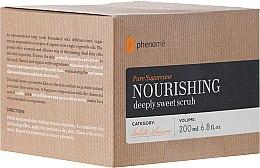 Parfums et Produits cosmétiques Gommage aux cristaux de sucre brun et huiles naturelles pour corps - Phenome Pure Sugarcane Nourishing Deeply Sweet Scrub