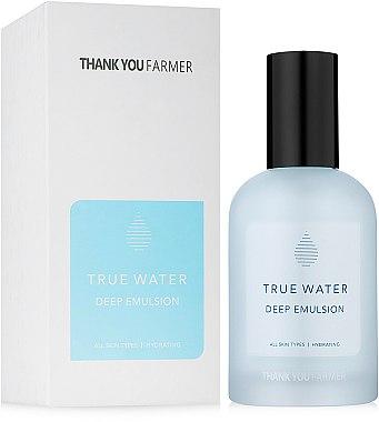 Émulsion hydratante intense pour visage - Thank You Farmer True Water Deep Emulsion
