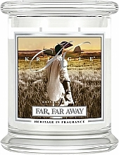 Parfums et Produits cosmétiques Bougie parfumée en jarre - Kringle Candle Far Far Away