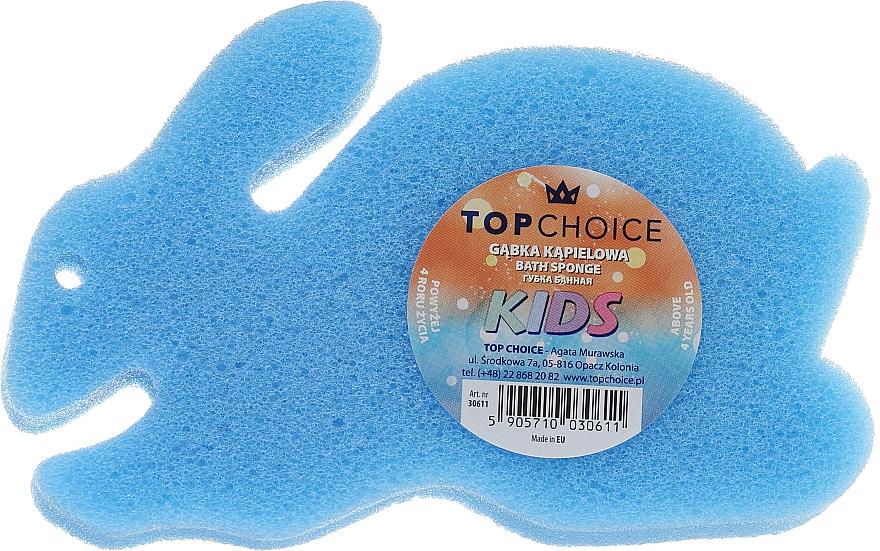 Éponge de bain Lapin, bleu - Top Choice — Photo N1