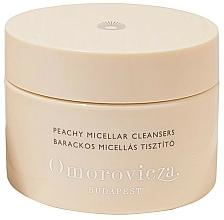 Parfums et Produits cosmétiques Disques démaquillants à l'essence de patchouli pour visage - Omorovicza Peachy Micellar Cleansers