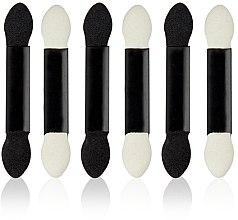 Parfums et Produits cosmétiques Applicateurs fards à paupières, blanc-noir, 6pcs - Donegal Eyeshadow Applicator