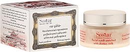 Parfums et Produits cosmétiques Gommage au lait d'ânesse pour visage - Sostar Face Moisturizing Peeling with Donkey Milk