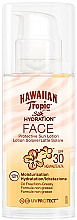 Parfums et Produits cosmétiques Crème solaire pour visage - Hawaiian Tropic Silk Hydration Face With SPF 30