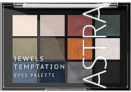 Parfums et Produits cosmétiques Palette de fards à paupières - Astra Make-up The Temptation Palette
