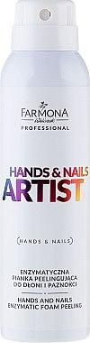 Mousse gommante enzymatique pour mains et ongles - Farmona Professional Hands and Nails Artist Enzymatic Foam Peeling