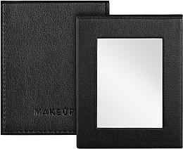 Parfums et Produits cosmétiques Miroir de poche pliable, noir - MakeUp Pocket Mirror Black