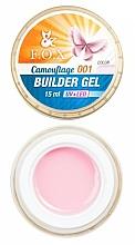 Parfums et Produits cosmétiques Gel UV/LED de camouflage - F.O.X Cover Camouflage Builder Gel