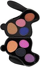 Parfums et Produits cosmétiques Palette d'ombres à paupières - I Heart Revolution Bunny Liquorice Palette