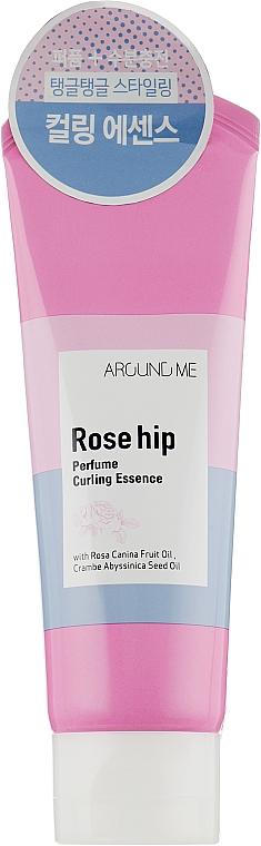 Essence à l'huile de rose musquée pour boucles - Welcos Around Me Rose Hip Perfume Curling Essence — Photo N1