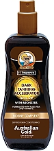 Parfums et Produits cosmétiques Gel-spray accélérateur de bronzage - Australian Gold Dark Tanning Accelerator Spray Gel With Bronzers