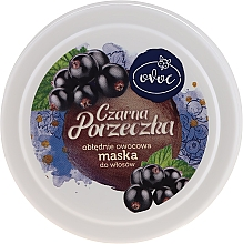 Parfums et Produits cosmétiques Masque à l'extrait de cassis et protéines de soie pour cheveux - Ovoc Czarna Porzeczka Mask