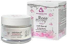 Parfums et Produits cosmétiques Crème de nuit à l'huile de rose et baies de goji - Bulgarian Rose Rose Berry Nature Night Cream