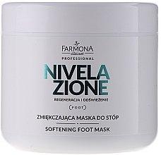 Parfums et Produits cosmétiques Masque à l'huile d'amande et vitamine E pour pieds - Farmona Professional Nivelazione Softening Foot Mask