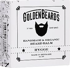 Parfums et Produits cosmétiques Baume à barbe bio, Hygge - Golden Beards Beard Balm