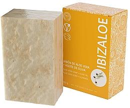 Parfums et Produits cosmétiques Savon à l'huile d'olive - Ibizaloe Aloe Vera Soap Olive Oil