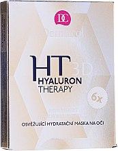 Parfums et Produits cosmétiques Masque rafraîchissant à l'acide hyaluronique pour les yeux - Dermacol Hyaluron Therapy 3D Refreshing Eye Mask