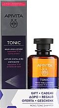 Parfums et Produits cosmétiques Apivita - Set (shampooing/250ml + lotion pour cheveux/150ml)