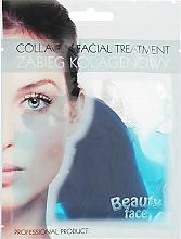 Parfums et Produits cosmétiques Tratement au collagène et aux algues pour visage - Beauty Face Collagen Hydrogel Mask
