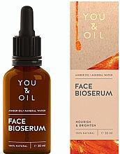 Parfums et Produits cosmétiques Sérum bio à l'huile d'ambre pour visage - You & Oil Amber. Face Bioserum
